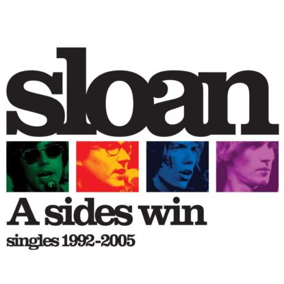 Sloan A Sides Win Album Cover